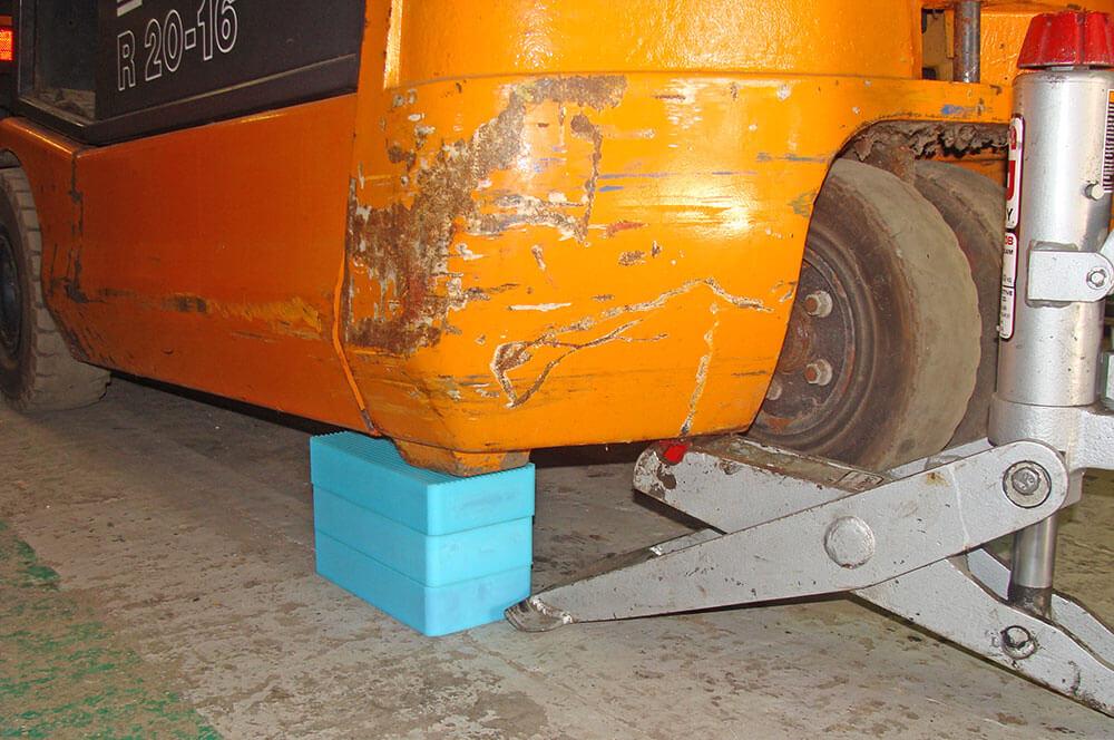 Fork Lift Truck Block System